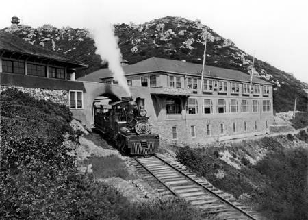 Gravity Train, Mount Tamalpais, Marin County