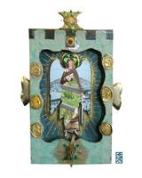 Transformer Angel with Mixed Media