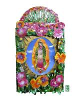 Mary of Guadalupe with Flowers