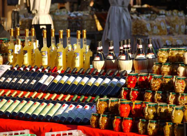 Limoncello, Chianti and other Treats