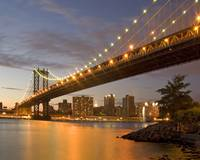 Manhattan Bridge Twilight