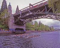 Two Eights on Montlake Cut