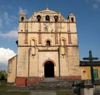 San Felipe Church in Chiapas Mexico