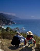 Whale Watchers, Big Sur, California