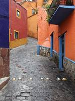 The colorful city of Guanajuato, Mexico