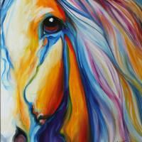 MAJESTIC HORSE by Marcia Baldwin