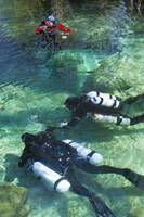 Diving at Ginnie Springs Florida