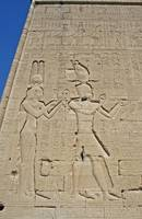 Hieroglyphs at Dendera Temple 11