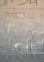 Hieroglyphs at Dendera Temple 10