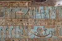 Ceiling at Dendera Temple 9