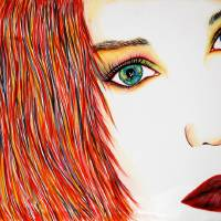 Tori Sees Red Art Prints & Posters by Joseph Lawrence Vasile