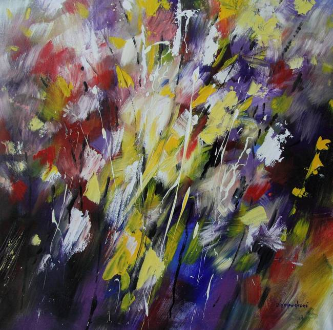 Abstract abstract flowers artwork for sale on fine art for Abstract posters for sale