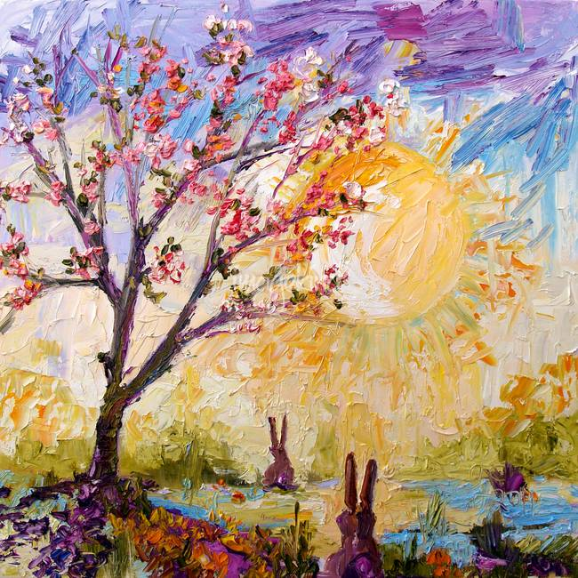 Welcome To My World Oil Painting By Ginette By Ginette Callaway