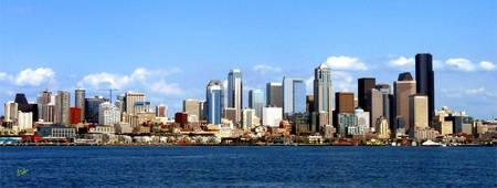 Seattle Skyline Eight