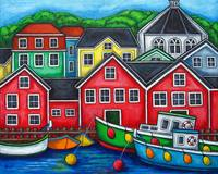 Colours of Lunenburg