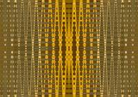 yellow bead pattern
