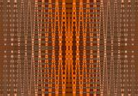 orange bead pattern