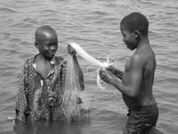 Boys Fishing