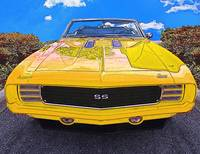 1969 Cheverolet Camaro RS SS Yellow