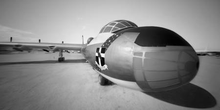 B-36 Through a Pinhole