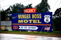 Route 66 - Munger Moss Motel Sign