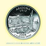 Arizona_portrait coin_48 Posters