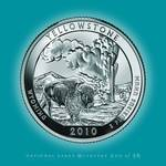 Yellowstone, Wyoming_portrait coin_NP02 Posters