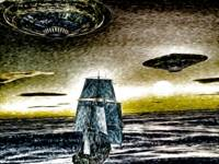 Sailing Ship and the UFO 3