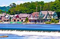Boathouse Row - HDR