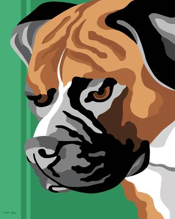 boxer breed art