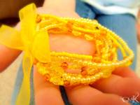 Yellow Beaded Bracelet