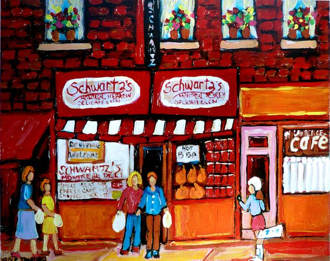 SCHWARTZ'S HEBREW DELICATESSAN #4