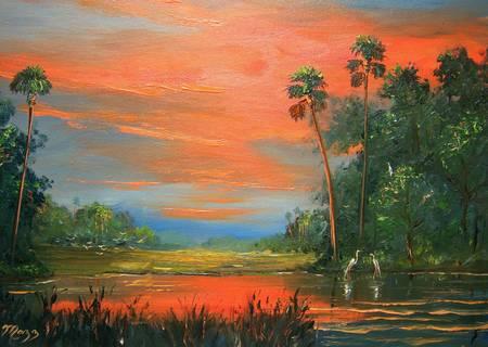 Fire Sky Backcountry Pond