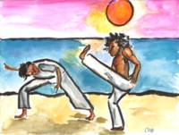 Capoeira Sunset