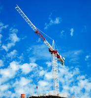 High Tower Construction Crane