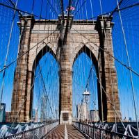 Brooklyn Bridge Art Prints & Posters by Reid Rosenberg