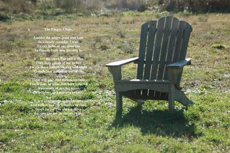 Empty Chair by Robert Longley