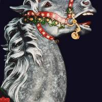 Carousel Stallion by Roger Dullinger