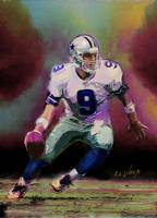 NFL Dallas Cowboys Tony Romo The Gunslinger