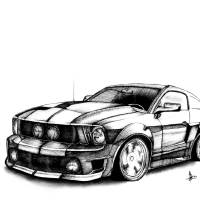 stang Art Prints & Posters by bRAndOn MOore