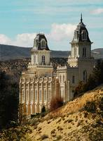 Manti Temple backside