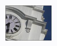 White Steeple Clock