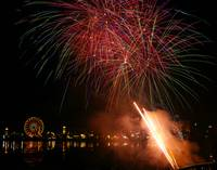 Olympia Lake Fair Fireworks #4