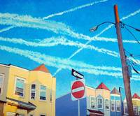 Chem Trails Over Allston Village