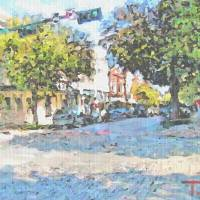 McKinney Square Art Prints & Posters by Jack Hill