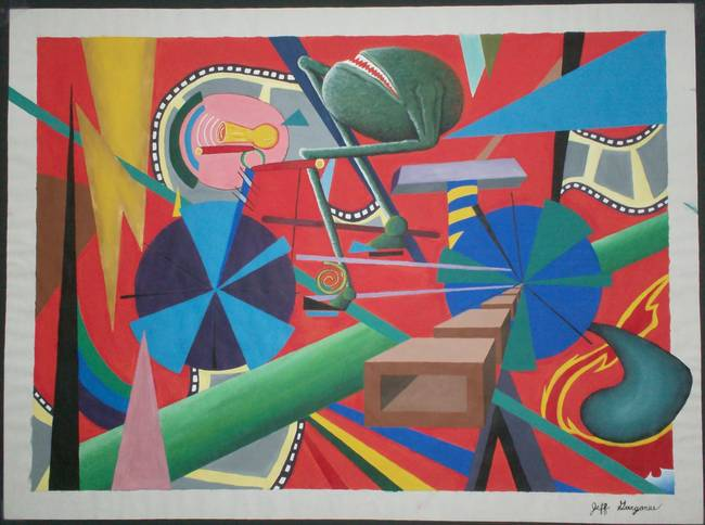 Journey Through Surrealistic Cubism