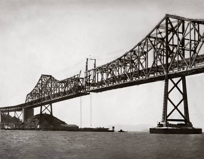 Bay Bridge Construction, Last Section