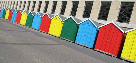 Beautiful Bold Beach Huts