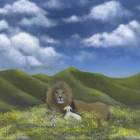 Heavenly Peace Art Prints & Posters by Kimberly Hodge