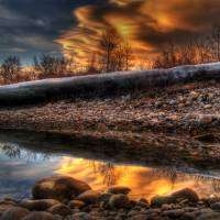 Burning Reflections by Thirteenth Avenue Photography